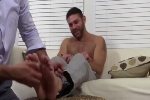 curly Ricky loves To Smell And Worship Seths Feet And Toes