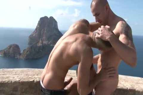 Muscle gay anal invasion With ball batter flow