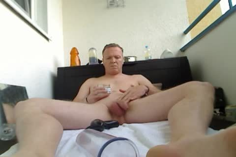 Fervent anal pumping on the yacht with muscled fellows