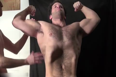 shaggy Muscle Hunk Worship