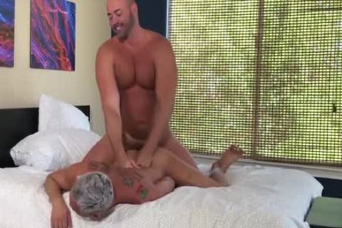 Tyler Reed And Silver Steele bare